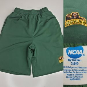 BAYLOR NCAA EMBROIDERED LOGO BASKETBALL SHORTS